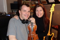 Scott & Keri In The Studio