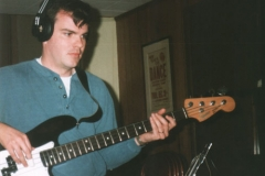 Scott Woods In The Studio On Guitar