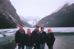 The Band In Lake Louise, AB