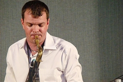 Scott Woods Playing Sax